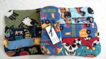 Colour Fleece Liners pk10 Boy Prints